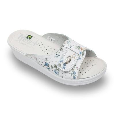 Papuci Medi+ 312SBF flori – dama foto