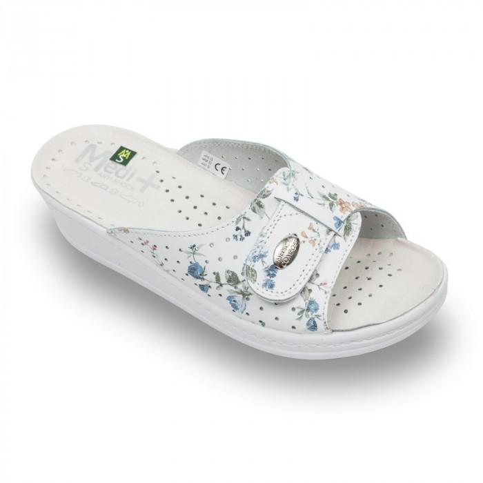 Papuci Medi+ 312SBF flori – dama