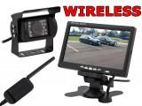 Set de Mers Inapoi Auto Wireless - Camera Video Marsarier cu Display LCD 7 Inch si Wi-Fi, Montare Rapida