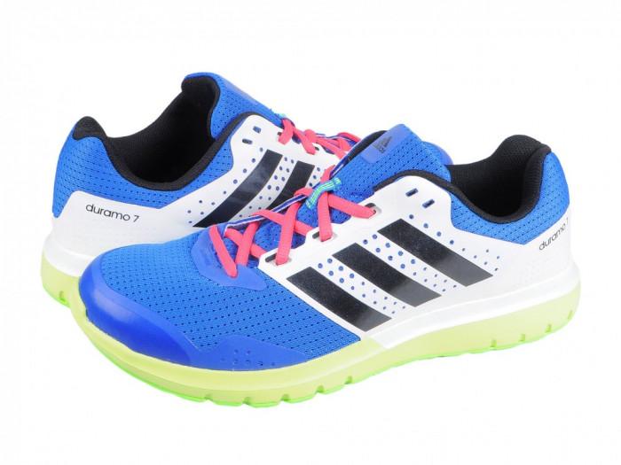 Pantofi sport alergare barbati Adidas Performance Duramo 7 m bleu-white-black S83231