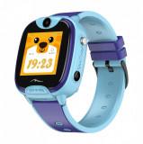 Ceas smartwatch GPS pentru copii Media-Tech Kids locator 4G, 4G, apel videol, Wi-Fi + localizare, rezistent la apa, telefon, SOS, touchscreen, monito