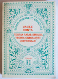 Vasile Conta - Teoria fatalismului. Teoria ondulației universale