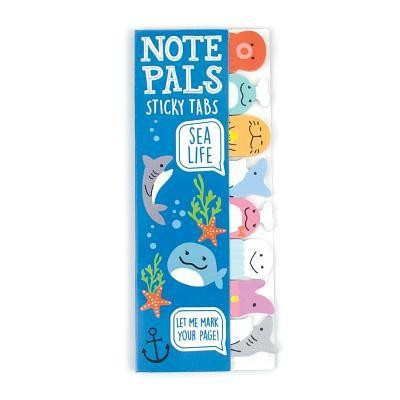 Note Pals Sticky Note Pad - Sea Life (1 Pack)