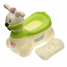 Olita bebelusi, capac confortabil, sunete si lumini, verde - U8871G