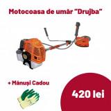 Motocoasa Drujba K4350, Ruseasca 4350W, 52cc, cu accesorii, 6 CP