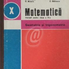 Matematica. Geometrie si trigonometrie, clasa a X-a (1981)