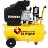 Cumpara ieftin Compresor de aer industrial 24L 1.2kW 200 l/min DEGET BM15-24 V81150