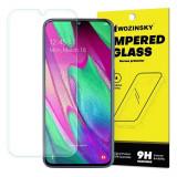 Folie Protectie Sticla Wozinsky 9H pentru Samsung Galaxy A40, Transparenta
