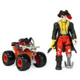 Masinuta Monster Jam - Blestemul piratilor si Capitanul Negru, Spin Master