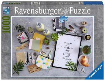Puzzle 'Start Living Your Dream', 1000 Piese foto