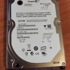 Hard Disk Laptop 2.5 inch 80GB 5400 RPM 8MB SATA 2 Diversi Producatori