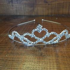 tiara pentru mireasa cu cristale