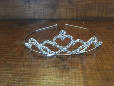 tiara pentru mireasa cu cristale foto