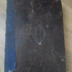 CEASLOV IN LIMBA ROMANA CU GRAFIE CHIRILICA, COPERTI PIELE, FORMAT CEVA MAI MARE