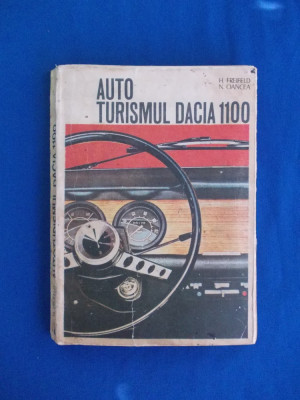 H. FREIFELD - AUTOTURISMUL DACIA 1100 , 1973 foto