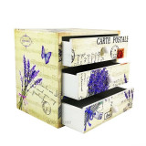 Cumpara ieftin Caseta Bijuterii Lemn CARTE POSTALE WZ1552