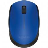 Mouse wireless Logitech M171 , Optic , 1000 DPI , Albastru