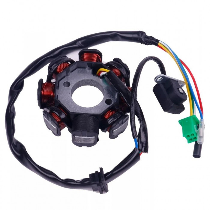 Magnetou Stator Aprindere Scuter Kymco - Kimco 4T 125cc 150cc 8 Bobine 5 FIRE