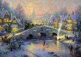 Puzzle Schmidt - 1000 de piese - Thomas Kinkade : Spirit of Christmas