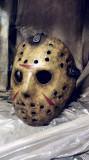 Masca Hockey Halloween Jason Voorhees Friday the 13th, Marime universala, Auriu