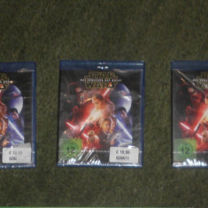 Blu-ray sigilat Star Wars: The Force Awakens,subtitrare engleza,germana,polona