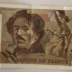 FRANTA 100 FRANCS/FRANCI 1990