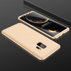 Husa Samsung Galaxy S9 Plus - GKK Protectie 360 Grade Aurie