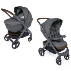 Carucior Duo Style Go Up Crossover COOL GREY