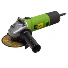Polizor unghiular ProCraft PW1350, 1350 W, 11000 rpm, disc 125 mm, sistem blocare ax