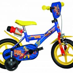Bicicleta copii 12'' Pompierul Sam PlayLearn Toys