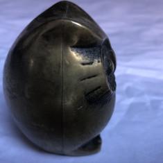 Bufnita miniaturala englezeasca,din bronz