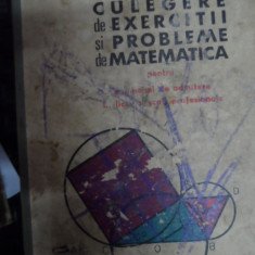 Culegere De Exercitii Si Probleme De Matematica Pentru Examen - Gr.gheba ,548995