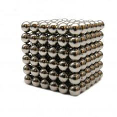 Joc Puzzle Antistres NeoCube cu Bile Magnetice cu Diametrul de 3mm, GTL