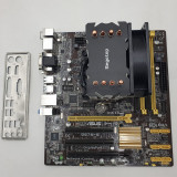 Cumpara ieftin KIT Placa de baza Asus Q87M-E, Intel Core i7 4770k 3.5GHz, Cooler Segotep...