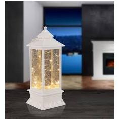 Lampa de masă cu LED, efect de sclipici, lumini de basm Globo