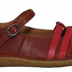 Pantofi dama casual cu bareta Kickers 470252-50-116 camel