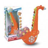 Saxofon cu melodii bebelusi Bontempi