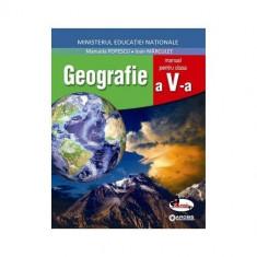 Geografie, manual clasa a V-a - Manuela Popescu, Ioan Marculet