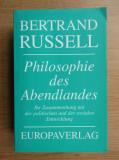 B.RUSSELL - PHILOSOPHIE DES ABENDLANDES (ISTORIA FILOZOFIEI OCCIDENTALE)