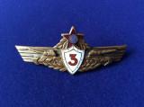 Insignă militară - Specialist de clasă - clasa a III-a - Tancuri /Tanchist RPR