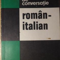 GHID DE CONVERSATIE ROMAN ITALIAN - ADRIANA LAZARESCU