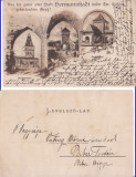 Sibiu- clasica, rara, Circulata, Printata