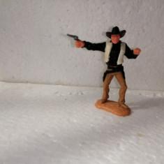 bnk jc Figurina de plastic - Timpo - cowboy cu pistol