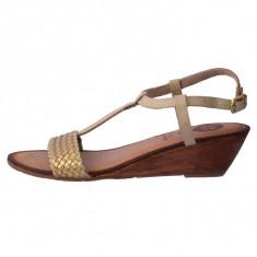 Sandale dama, din piele naturala, Gioseppo, B27513-24-3, bej