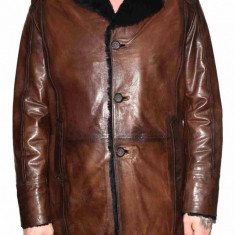 Cojoc barbati, din blana naturala, marca Kurban, A-71-02-95, maro