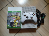 Consola Xbox One S 4K, 1TB, peste 250 de jocuri: Fortnite, Minecraft, FH4, MK,
