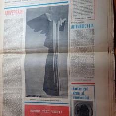 Magazin 7 mai 1983-articol si foto comuna gheorghe doja jud. ialomita