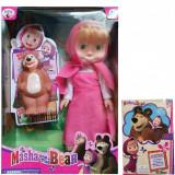 Set Papusa Masha si Ursul, 4-6 ani, Plastic