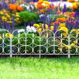 Bordura pt. pat de flori / gard - 68 x 38 - alb Best CarHome