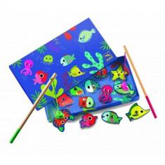 Joc de pescuit magnetic pesti colorati